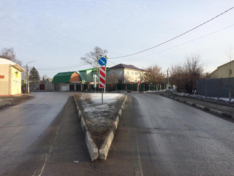 Старбеево, Ворошилова, дорога к ЗАО НПК Новые Краски